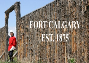 Entrance to Fort Calgary