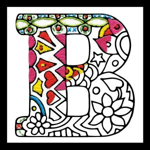 Zenbroidery Letter B Image