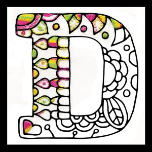 Zenbroidery Letter D Image