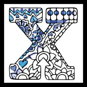 Zenbroidery Letter X Image
