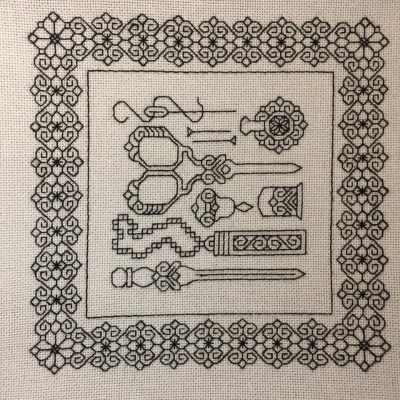 Blackwork Needleart