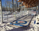 Outdoor Curling at Confluence Plaza on St. Patrick's Island 2020